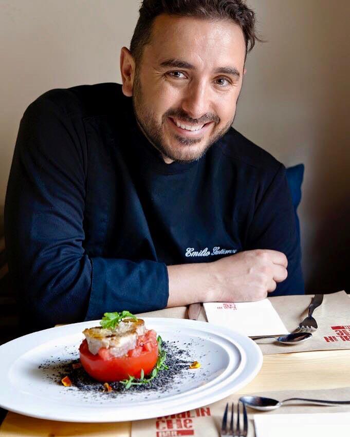 """Emilio Gutiérrez """"Miliuco"""", jefe de cocina de La Malinche Santander"""