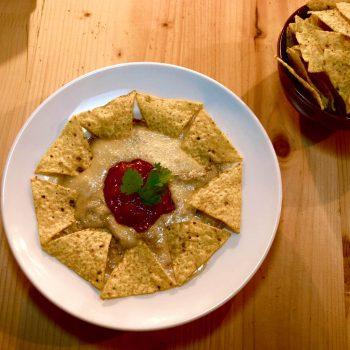 Nachos pasiegos de queso Divirín